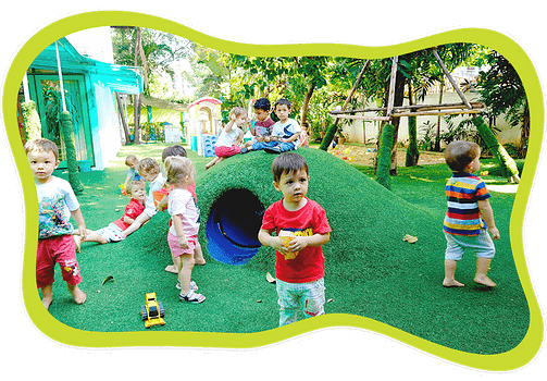 Playground at Centre Acacia, International Kindergarten in Bangkok